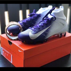NIKE VAPOR PRO 3 FOOTBALL CLEATS WHITE Sz 10